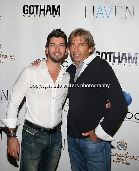 COO and Manager of Acquisitions for the Sanctuary Hotel's Brandon Freid and CEO/Founder of Impulsive Group's Hank Freid Attend Seth Meyers at Gotham magazine's 'The Men's Issue' release party at The Sanctuary Hotel powered by CÎROC Vodka, NY