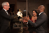 Oscar&reg; winner Kobe Bryant with wife, Vanessa, at the Governors Ball following the live ABC Telecast of The 90th Oscars&reg; at the Dolby&reg; Theatre in Hollywood, CA on Sunday, March 4, 2018.<br /> *Editorial Use Only*<br /> CAP/PLF/AMPAS<br /> Supplied by Capital Pictures