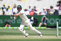 29th December 2019; Melbourne Cricket Ground, Melbourne, Victoria, Australia; International Test Cricket, Australia versus New Zealand, Test 2, Day 4; Travis Head of Australia hits the ball - Editorial Use