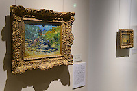 A Van Gogh painting (left) in the Kasama Nichido Museum of Art, Kasama city, Ibaraki, Japan, May 10, 2013.