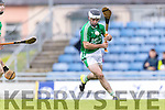 Kilmoyley in action against Jack Goulding Ballyduff in the County Senior Hurling Final at Austin Stack Park on Sunday.