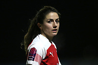 Danielle van de Donk of Arsenal during Arsenal Women vs Manchester United Women, FA WSL Continental Tyres Cup Football at Meadow Park on 7th February 2019