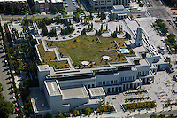 aerial photograph LDS Conference Center Salt Lake City, Utah