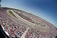 May 6, 2007; Richmond, VA, USA; Nascar Nextel Cup Series drivers during the Jim Stewart 400 at Richmond International Raceway. The race is being run on Sunday after being rained out on Saturday evening. Mandatory Credit: Mark J. Rebilas