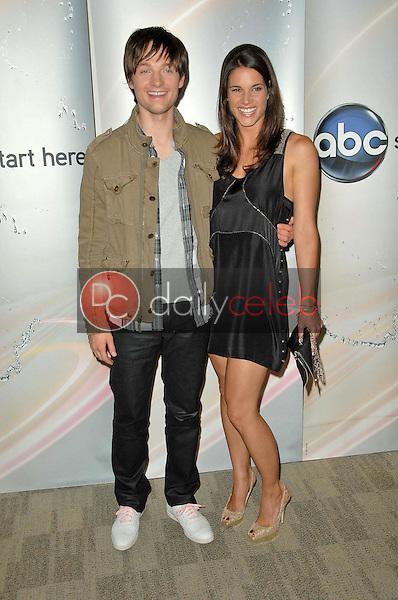 Greg Smith and Missy Peregrym<br /> at the Disney ABC Television Group Summer Press Junket, ABC Studios, Burbank, CA. 05-15-10<br /> David Edwards/Dailyceleb.com 818-249-4998
