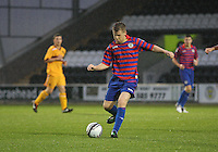 Jamie McKernon in the St Mirren v Motherwell Clydesdale Bank Scottish Premier League U20 match played at St Mirren Park, Paisley on 10.9.12.