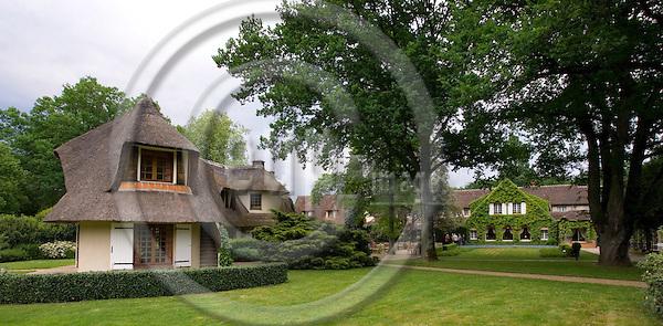 BOISMORAND - FRANCE - 02 MAY 2007 -- The Auberge Des Templiers - Les Bezards, a 4-star Relais & Châteaux hotel since 1954. -- PHOTO: JUHA ROININEN / EUP-IMAGES