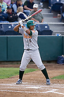 June 22, 2008: The Boise Hawks' Carlos Perez at-bat against the Everett AquaSox in a Northwest League game at Everett Memorial Stadium in Everett, Washington.