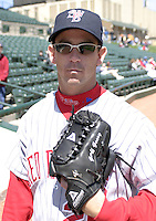 April 24, 2004:  /rp/ Geoff Geary of the Scranton-Wilkes Barre Red Barons, Class-AAA International League affiliate of the Philadelphia Phillies, during a game at Frontier Field in Rochester, NY.  Photo by:  Mike Janes/Four Seam Images