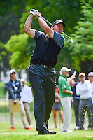 Phil Mickelson (USA) watches his tee shot on 7 during round 2 of the World Golf Championships, Mexico, Club De Golf Chapultepec, Mexico City, Mexico. 3/3/2017.<br /> Picture: Golffile | Ken Murray<br /> <br /> <br /> All photo usage must carry mandatory copyright credit (&copy; Golffile | Ken Murray)