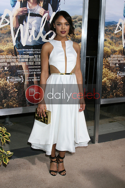 "Tessa Thompson<br /> at the ""Wild"" Los Angeles Premiere, AMPAS Samuel Goldwyn Theater, Beverly Hills, CA 11-19-14<br /> David Edwards/Dailyceleb.com 818-249-4998"
