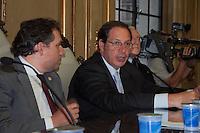 S&Atilde;O PAULO-SP-18,08,2014-MINISTRO DO STJ-LUIS FELIPE SALOM&Atilde;O/LAN&Ccedil;AMENTO/&quot;DIREITO PRIVADO-TEORIA E PR&Aacute;TICA&quot;-<br /> O Ministro do Superior Tribunal Federal Luis Felipe Salom&atilde;o durante o lan&ccedil;amento do livro &quot;Direito Privado-Teoria e Pr&aacute;tica,na Faculdade de Direito da USP,Largo S&atilde;o Franscisco na regi&atilde;o central da cidade de S&atilde;o Paulo,nessa segunda,18 (Foto:Kevin David/Brazil Photo Press)