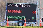 Tasman Mako vs Manawatu Turbos at Lansdowne Park, Blenheim 24th August 2019. Photo Gavin Hadfield / shuttersport.co.nz