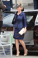 LONDRES, INGLATERRA, 05 DE JUNHO 2012 - JUBILEU DE DIAMANTE DA RAINHA ELIZABETH - A condessa de Wessex Sophie chega a Catedral de Sao Paulo durante o Jubileu de Diamante da Rainha Elizabeth em Londres capital do Reino Unido, nesta terça-feira, 05. (FOTO: BILLY CHAPPEL / ALFAQUI / BRAZIL PHOTO PRESS)