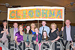 BANNER: Raising their banners high were supporters for Cliodhna Quirke Ballygarry House Hotel & Spa, Tralee on Friday night at Ballyroe Heights Hotel, Tralee. L-r: Mary Boltt Catherine Quirke, Corina Fitzgibbon, Cian Quirke, Grainne Quirke, Emma Fitzgibbon, Debha Quirke, Geraldine Quirke, Molly Quirke and Jerome Quirle.
