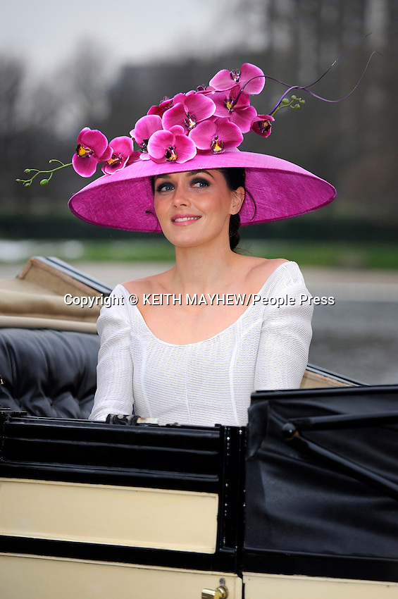 Victoria Pendleton at the Royal Ascot 2013 campaign 'The Colour and the Glory' launch in Hyde Park, London - January 24th 2013...Photo by Keith Mayhew