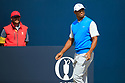 Tiger Woods (USA) during the first round of the 147th Open Championship played at Carnoustie Links, Angus, Scotland. 19/07/2018<br /> Picture: Golffile | Phil Inglis<br /> <br /> All photo usage must carry mandatory copyright credit ©Phil INGLIS)