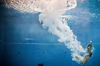 Kiki Camilla Magnolini (ITA)   Qualificazioni trampolino 3m femminile   Campionati Italiani assoluti di tuffi indoor    Torino 04/04/2014    Piscina Stadio Monumentale  Nuoto Tuffi    Foto Giorgio Perottino / Insidefoto