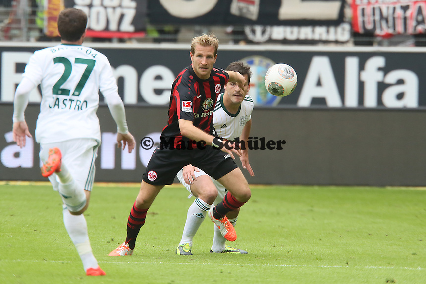 Stefan Aigner (Eintracht) - Eintracht Frankfurt vs. Bayer Leverkusen, Commerzbank Arena
