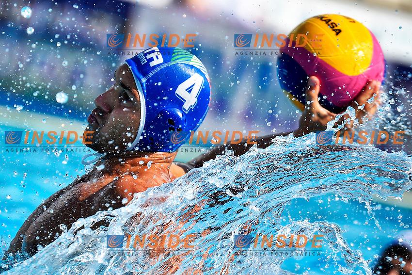 FIGLIOLI Pietro Italia <br /> Romania - Italy / Romania - Italia <br /> LEN European Water Polo Championships 2014<br /> Alfred Hajos -Tamas Szechy Swimming Complex<br /> Margitsziget - Margaret Island<br /> Day02 - July 15 <br /> Photo A.Staccioli/Insidefoto/
