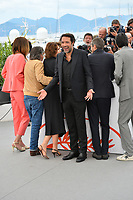 """CANNES, FRANCE. May 21, 2019: Doria Tillier, Daniel Auteuil, Fanny Ardant, Nicolas Bedos, Guillaume Canet & Michael Cohen at the photocall for """"La Belle Epoque"""" at the 72nd Festival de Cannes.<br /> Picture: Paul Smith / Featureflash"""