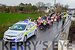 "Scoil Naomh Eirc Kilmoyley National School is encouraging parents and pupils to ""Park and Stride"" as part of an Taisce's ""Big Travel Challenge. On Tuesday they had an escort by the Gardaí. School principal Mrs. Áine Crowe is hoping that by giving the children the opportunity to experience the fun of walking it will encourage them to integrate walking into their everyday lives"
