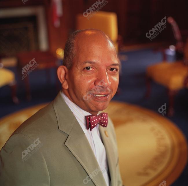 Anthony Williams, mayor of Washington, D.C., in the John Wilson Building. Washington, D.C. July 24, 2003.