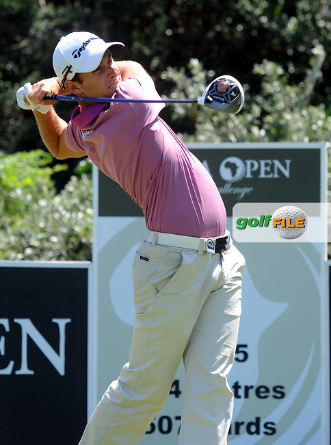 EAST LONDON, EASTERN CAPE, SOUTH AFRICA FEBRUARY 17 - Lorenzo Gagli of Italy during the fourth and final day of the Africa Open Open Golf Challenge at the East London  Golf course. ..Photo: Catherine Kotze/SASPA