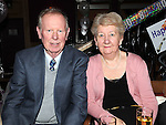Charlie and Marie Farrell pictured at Breda Bird's 80th birthday in the Thatch. Photo: Colin Bell/pressphotos.ie