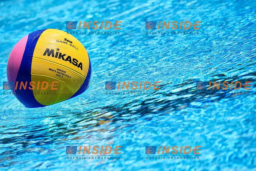 Game Ball <br /> Italia - Georgia / Italy - Georgia<br /> LEN European Water Polo Championships 2014<br /> Alfred Hajos -Tamas Szechy Swimming Complex<br /> Margitsziget - Margaret Island<br /> Day04 - July 17 <br /> Photo A.Staccioli/Insidefoto/