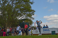 Rory McIlroy (NIR) watches his tee shot on 3 during day 2 of the World Golf Championships, Dell Match Play, Austin Country Club, Austin, Texas. 3/22/2018.<br /> Picture: Golffile | Ken Murray<br /> <br /> <br /> All photo usage must carry mandatory copyright credit (&copy; Golffile | Ken Murray)