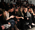 Kelly Rutherford front row at Dany Tabet Fashion Show presented by RUSK during the fall/winter 2014 Nolcha Fashion Week - spotlighting independent designers on February 12, 2014 at Pier 59, New York City, New York.  (Photo by Sue Coflin/Max Photos)