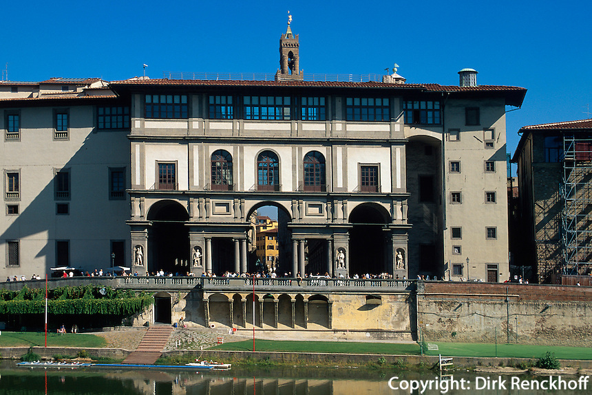 Uffizien, Florenz, Toskana, Italien, Unesco-Weltkulturerbe.