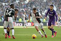 2nd February 2020; Allianz Stadium, Turin, Italy; Serie A Football, Juventus versus Fiorentina; Paulo Dybala of Juventus on the ball
