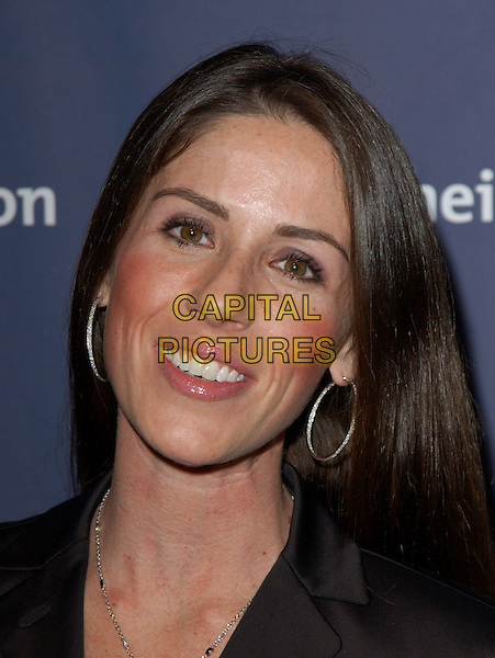 "SOLEIL MOON FRYE  .The Alzheimer's Association's 12th Annual ""A Night at Sardi's"" Celebrity Fundraiser held at The Beverly Hilton Hotel in Beverly Hills, California .04 March 2004.*UK Sales Only*.headshot, portrait, hoop earrings.www.capitalpictures.com.sales@capitalpictures.com.©Capital Pictures."