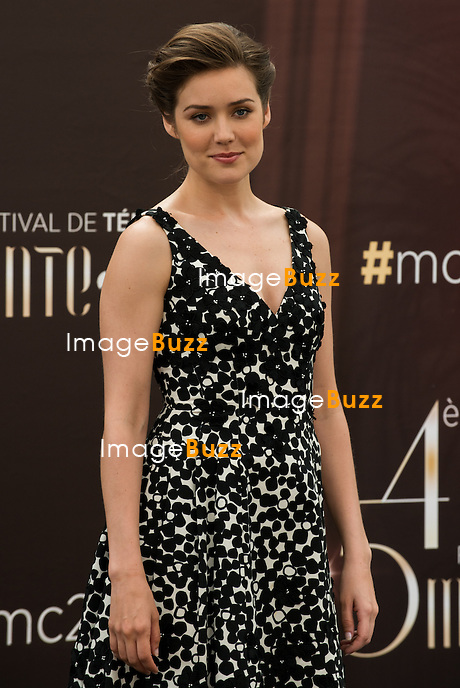 "Megan Boone ""The blacklist"" attends photocall at the Grimaldi Foruml on June 10, 2014 in Monte-Carlo, Monaco."