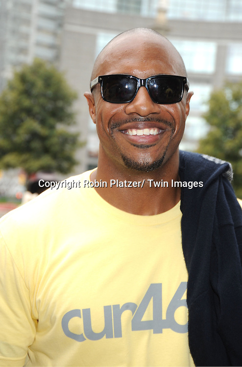 Jay Williams attends The Alex's Lemonade Stand Foundation fundraiser benefiting pediatric cancer research. Graham Bunn from Bachelor Pad along with his company 46 NYC are sponsoring Alex's stand on September 25, 2011 at Merchants Gate in Central Park.