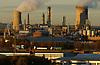Industrial area North Teesside UK