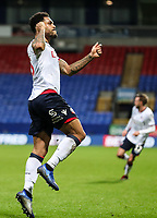Bolton Wanderers' Josh Magennis celebrates scoring his side's fourth goal <br /> <br /> Photographer Andrew Kearns/CameraSport<br /> <br /> Emirates FA Cup Third Round - Bolton Wanderers v Walsall - Saturday 5th January 2019 - University of Bolton Stadium - Bolton<br />  <br /> World Copyright &copy; 2019 CameraSport. All rights reserved. 43 Linden Ave. Countesthorpe. Leicester. England. LE8 5PG - Tel: +44 (0) 116 277 4147 - admin@camerasport.com - www.camerasport.com