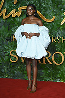 Dina Asher Smith<br /> arriving for The Fashion Awards 2018 at the Royal Albert Hall, London<br /> <br /> ©Ash Knotek  D3466  10/12/2018