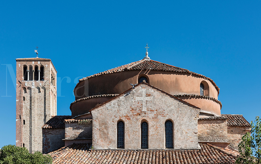 Santa Fosca church, Torcello Island, Venice, Italy