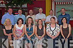 Birthday girl: Paula Falvey celebrated her 40th Birthday at Punjab Spice restaurant, Listowel on Saturday night with friends. Pictured from left: Bridget Hogan, Mary O' Neill, Paula Falvey, Aileen o' Donoghue, Theresa and Bernie Kennelly. Back l-r: Brendan Hogan, Erick O' Neill, Ivan Falvey, Tony O' Donoghue, Alan and John Kennelly.
