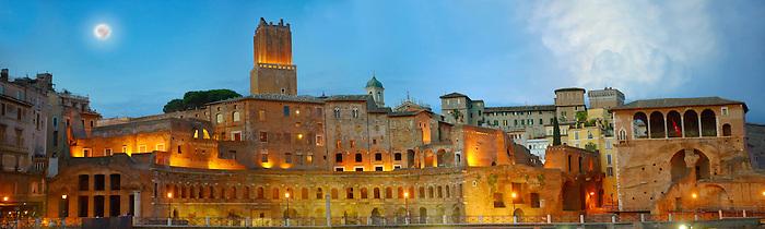 Emperors Trajan's Market ( Mercati Trajanei) . Rome