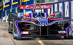 Sam Bird of Great Britain from DS Virgin Racing competes in the Formula E Qualifying Session 2 during the FIA Formula E Hong Kong E-Prix Round 2 at the Central Harbourfront Circuit on 03 December 2017 in Hong Kong, Hong Kong. Photo by Victor Fraile / Power Sport Images