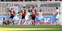 FUSSBALL   1. BUNDESLIGA  SAISON 2011/2012   10. Spieltag 1 FC Nuernberg - VfB Stuttgart         22.10.2011 Tor zum 1:0 durch Timmy Simons (1 FC Nuernberg)