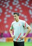 11.06.2012 WARSZAWA (WARSAW POLAND) STADION NARODOWY (NATIONAL STADIUM).PILKA NOZNA (FOOTBALL) UEFA EURO 2012 POLAND UKRAINE MISTRZOSTWA EUROPY W PILCE NOZNEJ POLSKA UKRAINA TRENING REPREZENTACJI POLSKI DZIEN PRZEDM MECZEM Z ROSJA (POLAND NATIONAL FOOTBALL TEAM TRAINING IN WARSAW).N/Z ROBERT LEWANDOWSKI.FOTO NORBERT BARCZYK / PRESSFOCUS/NEWSPIX.PL.---.Newspix.pl