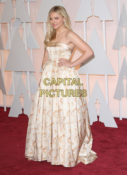 22 February 2015 - Hollywood, California - Chloe Grace Moretz. 87th Annual Academy Awards presented by the Academy of Motion Picture Arts and Sciences held at the Dolby Theatre. <br /> CAP/ADM<br /> &copy;AdMedia/Capital Pictures Oscars