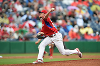 Philadelphia Phillies pitcher Jake Diekman (63) during a Spring Training game against the New York Yankees on March 27, 2015 at Bright House Field in Clearwater, Florida.  New York defeated Philadelphia 10-0.  (Mike Janes/Four Seam Images)