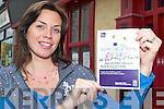 Lorraine Bowler of North Kerry Together who is asking voters to text LISTOWEL, followed by C to 53099 to support the Listowel Youth Cafe project.   Copyright Kerry's Eye 2008