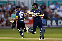 Ravi Bopara and Ryan ten Doeschate add to the Essex total during Essex Eagles vs Surrey, NatWest T20 Blast Cricket at The Cloudfm County Ground on 7th July 2017